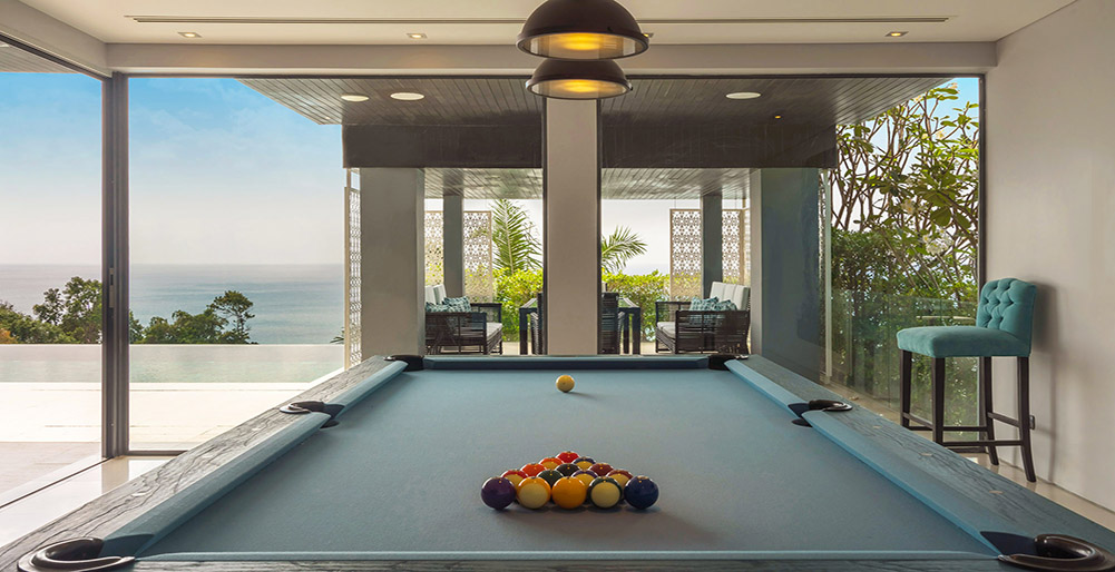 Villa Samira - Pool table